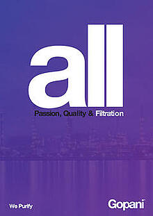 All Filtration Catalogs - Gopani Product Systems