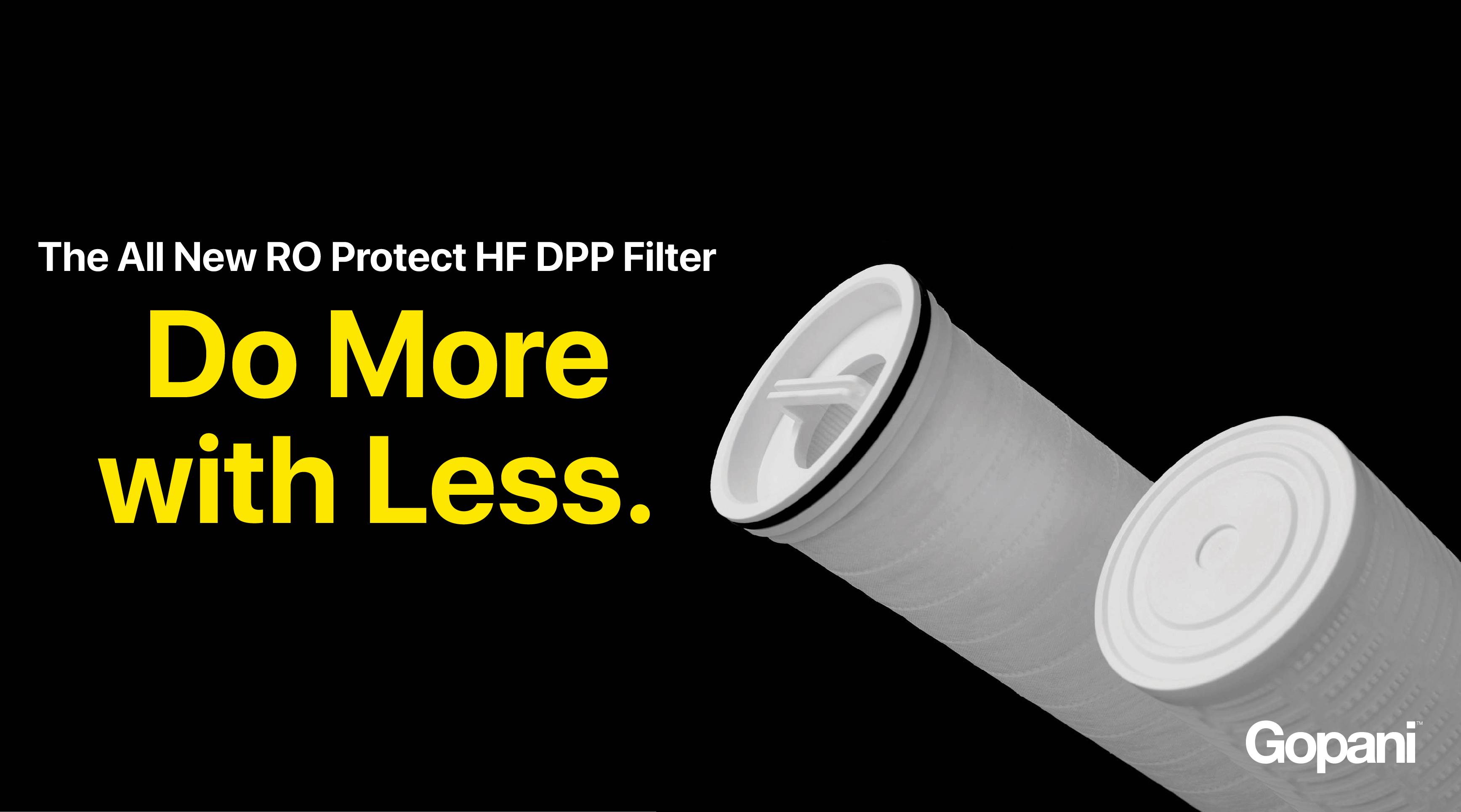 DPP_RO Protect HF DPP FIlter