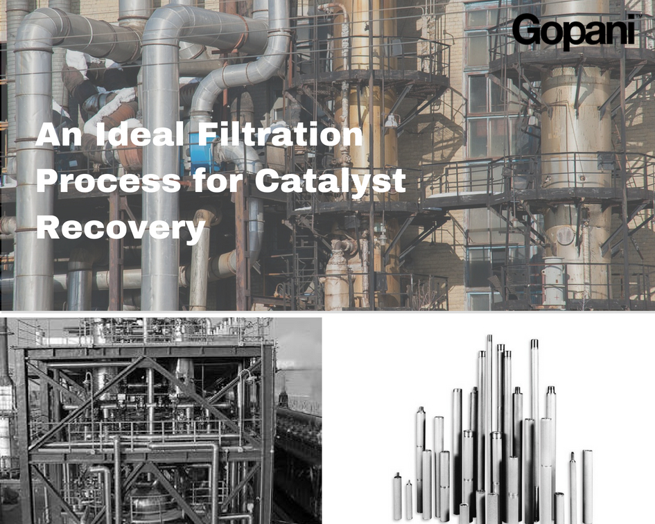 Filtration Process for Catalyst Recovery