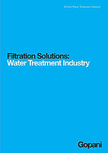 Waste Water Filter Cartridges - Gopani Product Systems