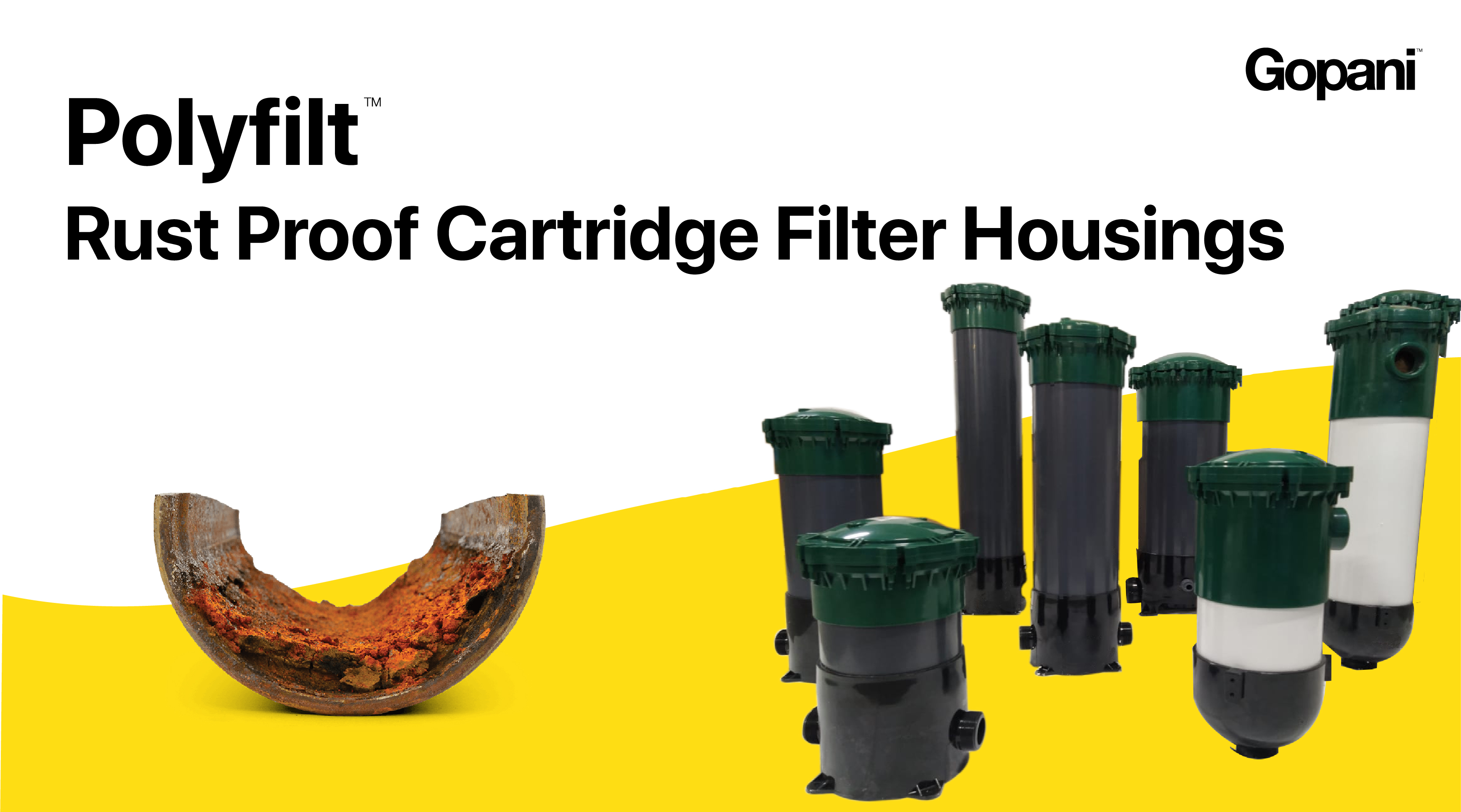 polyfilt Rust Proof Catridge Filter Housings - Gopani Ahmedabad India Gujarat