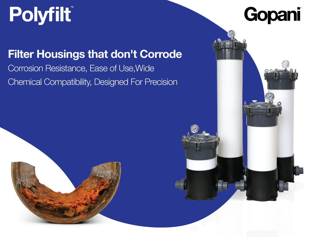 Polyflit - UPVC Filter Housing - Gopani Product Systems